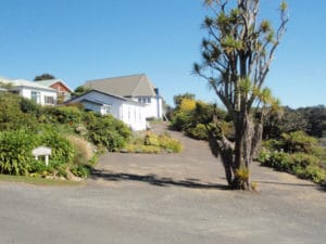 Sails Ashore Garden and Webcam, Stewart Island