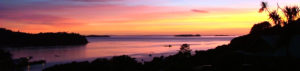 Stewart Island rakiura, land of glowing skies, sailsashore