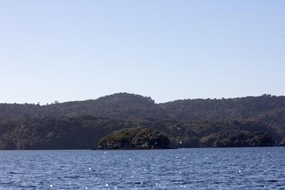 Dirty Island, Stewart Island, Sails Tours