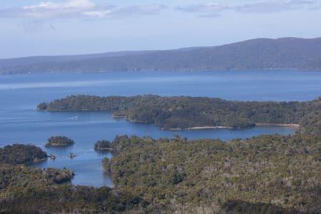 Prices Inlet, sails tours, stewart island