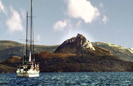 Bald Cone, Sails Ashore, Stewart Island