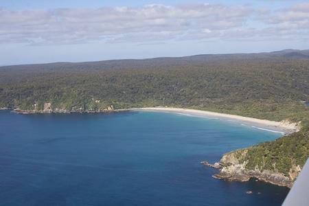 Ocean Beach, sails tours, stewart island