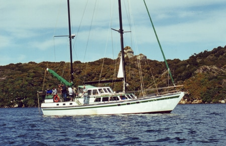 The Pigeon House, Sails Tours, Stewart Island