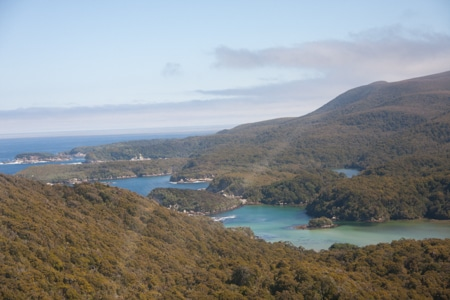 the settlement, sails tours, stewart island