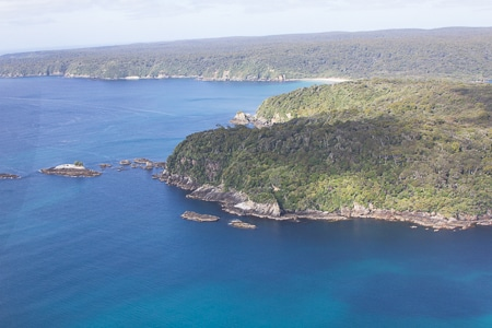 steep head, sails tours, stewart island