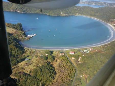 Horseshoe Bay, Stewart Island, Sails Ashore