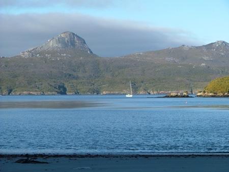 Easy Harbour, Sails Ashore, Stewart Island