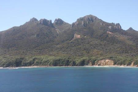 Raggedy Range, Sails Ashore, Stewart Island