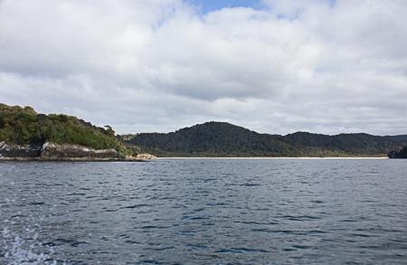 Maori Beach, Sails Stewart Island Tours