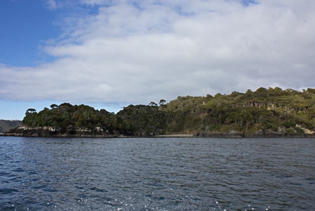 Peters Point, Sails Stewart Island Tours