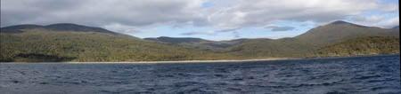Murray River, Stewart Island, Sails Ashore