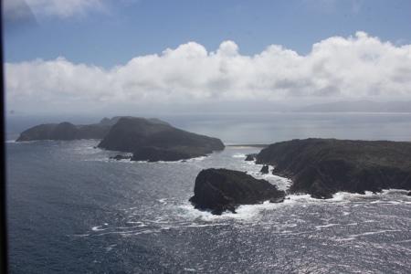 The Gutter, Mason bay Islands, Sails Tours, Stewart Island
