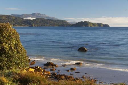 Mt Anglem, Sails Ashore, Stewart Island