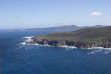 Big South Cape, Stewart Island, Sails Tours