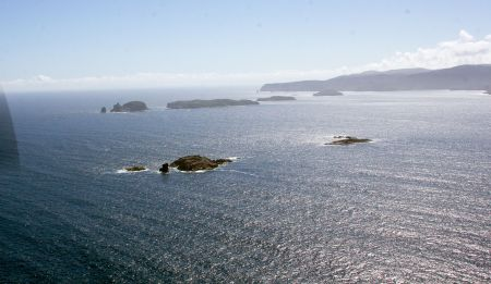 The Sisters, Stewart Island Place Names, Sails Tours