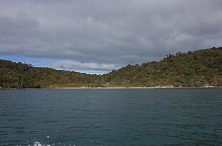 Lee Bay, Sails Stewart Island Tours