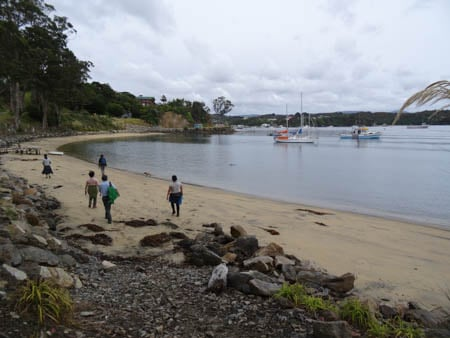 Fly Point, Sails Tours, Stewart Island